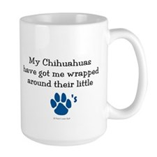Wrapped Around Their Paws (Chihuahua) Mug