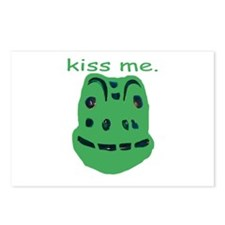 Kiss Me Frog Postcards (Package of 8)