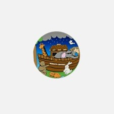 Noahs Ark Mini Button