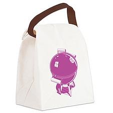 Cute Bbq sauce Canvas Lunch Bag