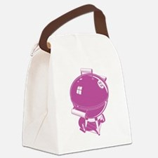 Cute Barbeque Canvas Lunch Bag