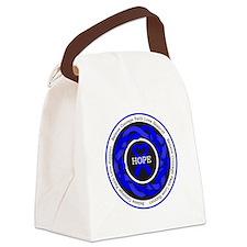 Huntingtons Disease Hope Canvas Lunch Bag