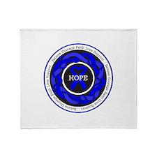 Huntingtons Disease Hope Throw Blanket