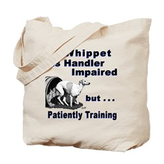 Whippet Agility Tote Bag