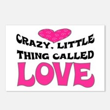 CRAZY LITTLE THING CALLED LOVE Postcards (Package