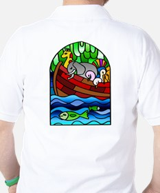 Noah's Ark Stained Glass T-Shirt