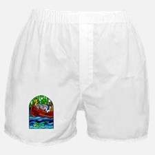 Noah's Ark Stained Glass Boxer Shorts