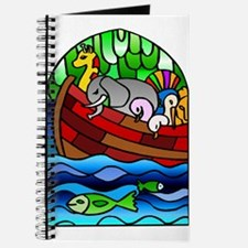 Noah's Ark Stained Glass Journal