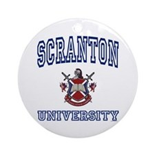 SCRANTON University Ornament (Round)