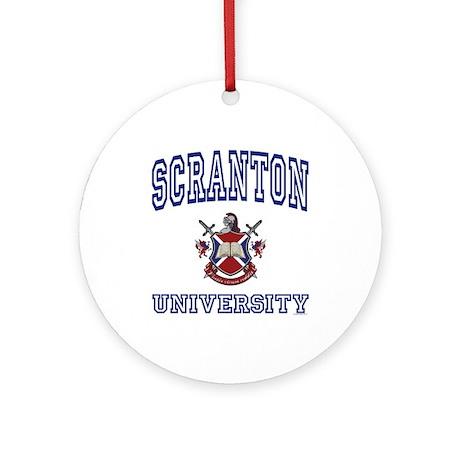 SCRANTON University Ornament (Round)