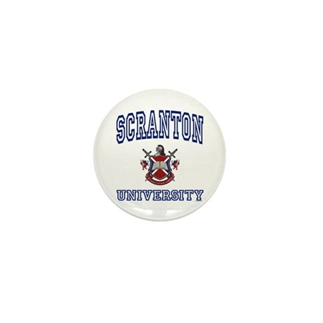 SCRANTON University Mini Button (10 pack)