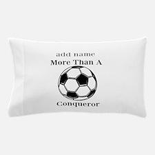 Personalized Soccer-Conqueror Pillow Case