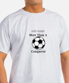 Personalized Soccer-Conqueror T-Shirt