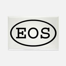 EOS Oval Rectangle Magnet