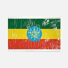 Vintage Ethiopia Rectangle Magnet
