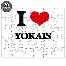 I love Yokais Puzzle