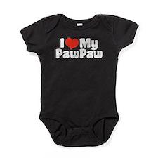 Cute World greatest paw paw Baby Bodysuit