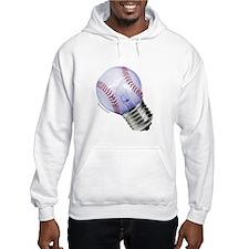 Baseball Lightbulb Jumper Hoody