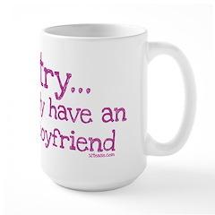 My BoyFriend is Awesome Mug