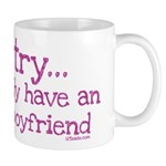 My BoyFriend is Awesome Mug