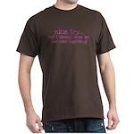 My BoyFriend is Awesome Dark T-Shirt