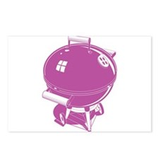 Pink BBQ Postcards (Package of 8)