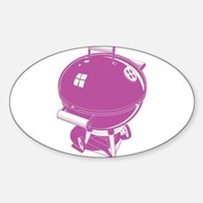Pink BBQ Decal