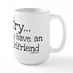 Awesome Girlfriend Awesome Large Mug