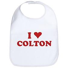 I LOVE COLTON Bib