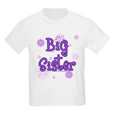 Purple big sister circles T-Shirt
