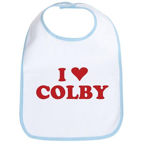 I LOVE COLBY Bib