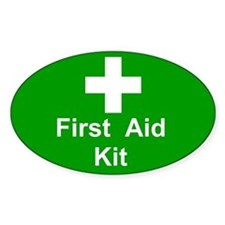 First Aid Box Lid Decal