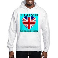 I Love Great Britain Nuke Ira Jumper Hoody