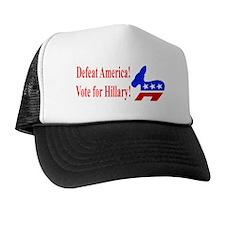 Vote for Hillary Trucker Hat