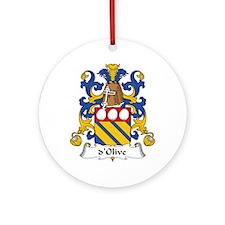dOlive Ornament (Round)