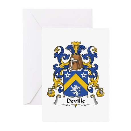 Deville Greeting Cards (Pk of 10)