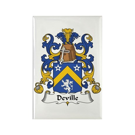 Deville Rectangle Magnet (10 pack)