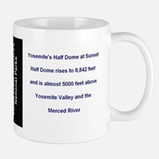 Yosemite National Park Half Dome Sunset Mug
