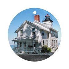 Sodus Point Lighthouse Ornament (Round)