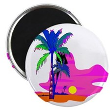 Palm Island Sunset Magnet