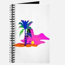 Palm Island Sunset Journal