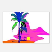 Palm Island Sunset Postcards (Package of 8)