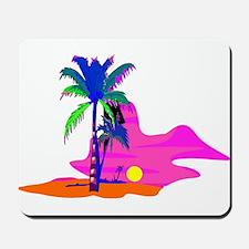 Palm Island Sunset Mousepad