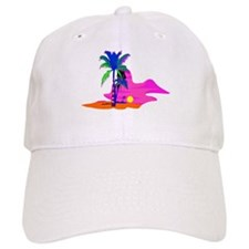 Palm Island Sunset Baseball Cap