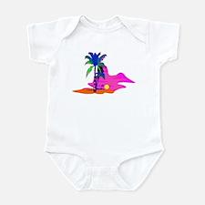 Palm Island Sunset Infant Bodysuit
