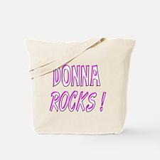 Donna Rocks! Tote Bag