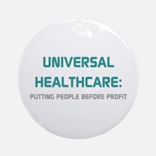 Universal Healthcare Ornament (Round)