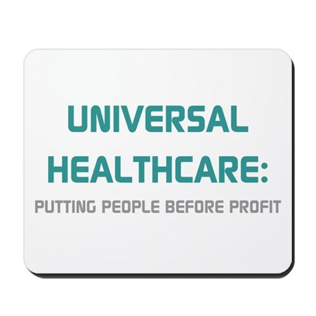 Universal Healthcare Mousepad