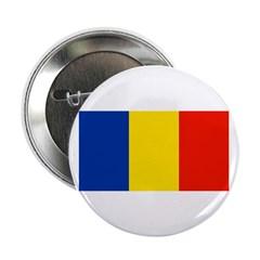 Romania Blank Flag Button