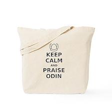 Keep Calm Praise Odin Tote Bag